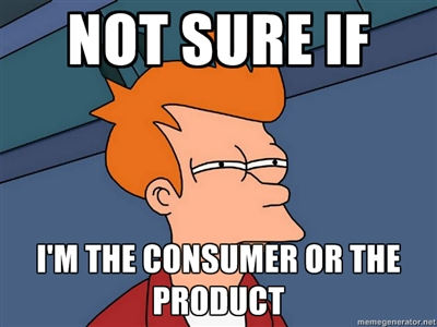 not sure if i'm product or customer